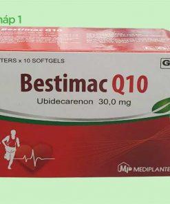 Hộp thuốc Bestimac Q10